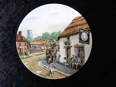 Royal Doulton collectors plate - 'The White Horse' - Issued 1991