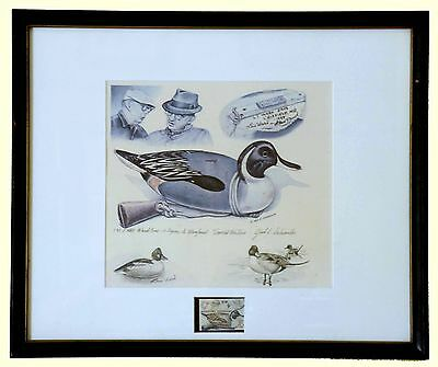 1980  A Legacey To Maryland Artist And Subject Remarque - $575.00  (Esp -Jr7)