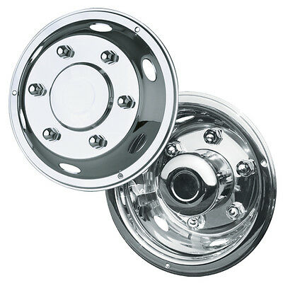 """1 x 4 17.5"""" Ford Cargo extra deep deluxe wheel liners trims hub caps"""
