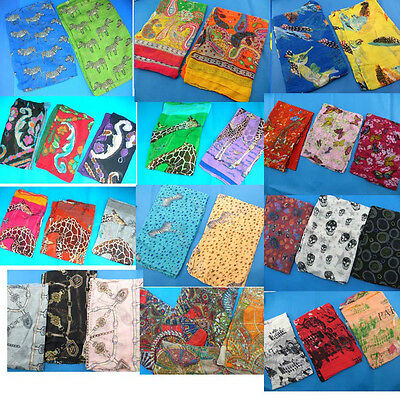 US SELLER-wholesale lot of 20 scarves sarongs shawl beach wrap -FREE SHIPPING