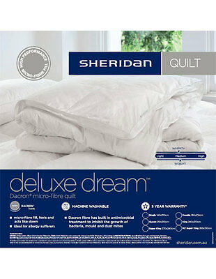 SHERIDAN Canfield Bed Cover Super King KingQueen Bed size in Charcoal