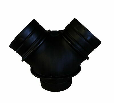 """Duct Bto Y Joiner Pvc 6""""X6""""X6"""" - 150Mm X 150Mm X 150Mm"""