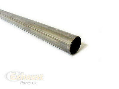 "48mm 1⅞ 1.875"" Stainless Steel T304 Tube Pipe Exhaust Repair Section Any Length"