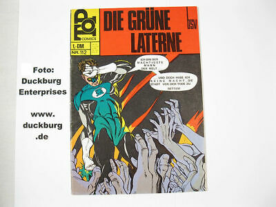 Top Comics Nr. 112  grüne Laterne  BSV in Z (1)  38534