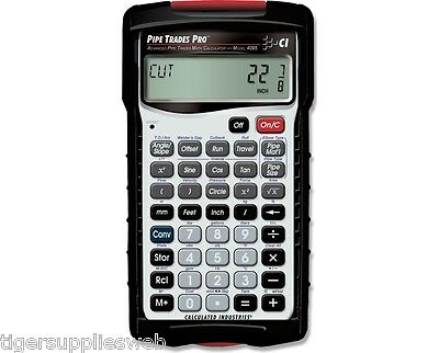 Calculated Industries 4095 Pipe Trades Pro Calculator