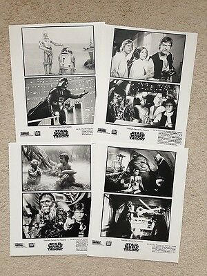 STAR WARS Terrific Lot of 24 Movie Photos