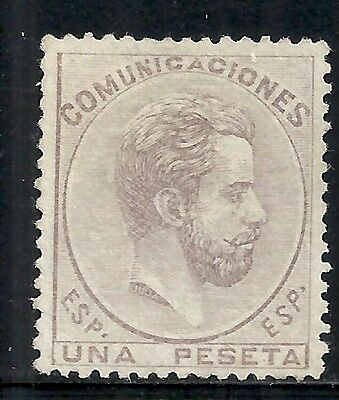 Spain stamps 1872 YV 126 signed  UNG  VF