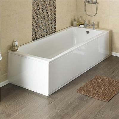Linton Premier Acrylic Square Single End Bath inc legset in Choice of Sizes