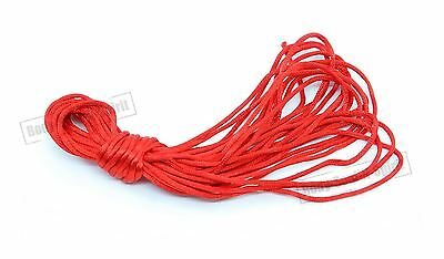 """LUCKY"" WHOLESALE LOT 8 M Red String for Kabbalah Wrap Bracelet Jewelry"