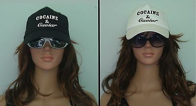 COCAINE and CAVIAR HAT cap COTTON tumblr swag fashion blog T shirt in shop meow