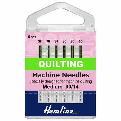 Size 90/14 Sewing Machine Needle - Klasse Quilting Needles - Pack 5