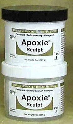 Apoxie Sculpt Modeling Clay, Two Part expoxy clay1 lb.White