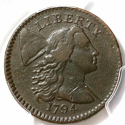 1794 S-64 R5- PCGS VF Details Liberty Cap Large Cent Coin 1c