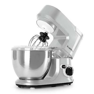 New 800W Modern Food Processor / Dough Mixer Stainless Steel * Free P&p Uk Offer