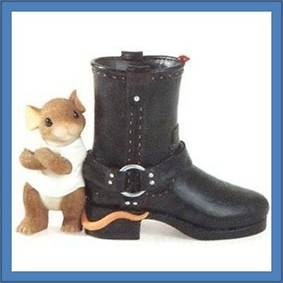 Fitz & FLoyd Charming Tails SOLE OF A REBEL Boot New! 89/283