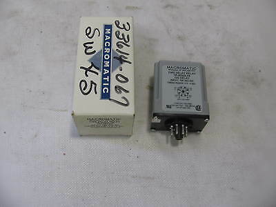 Macromatic Tr-50222-04 Time Delay Relay