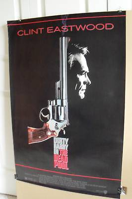 The Dead Pool~1 Sheet~1988~Original Rolled~Movie Poster~Clint Eastwood