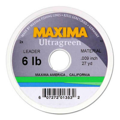 Maxima Ultragreen 100m Monofilament Fishing Line