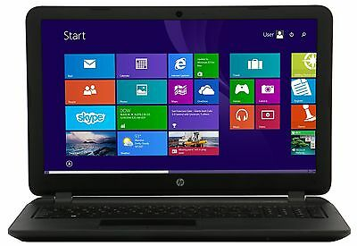 "NEW HP 15-f009wm 4GB 500GB HD 15.6"" Windows 8.1 HDMI Black USB 3.0"
