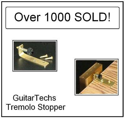 USA MADE GuitarTechs TREMOLO STOPPER STABILIZER Trem Brake for Guitar Floyd Rose