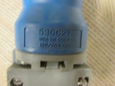 Hubbell Connector, 530C2W, 30A, 5P, Missing Cap