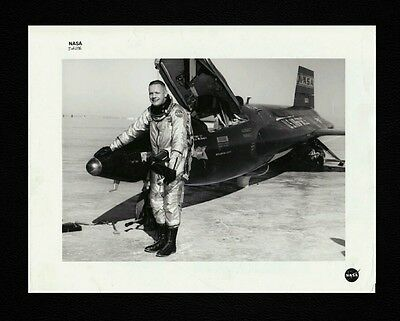 "1962 Neil Armstrong ""X-15 Testing"" TYPE 1 Original Photo Pre-Space Launch NASA"