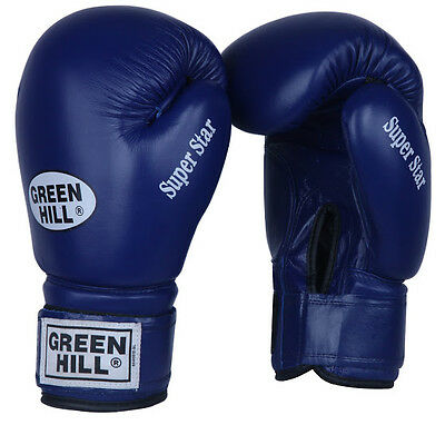 Green Hill Leopard Adults Boxing Gloves