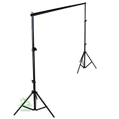 2mx2m background stand tripod backdrop support photo studio kit crossbar uk