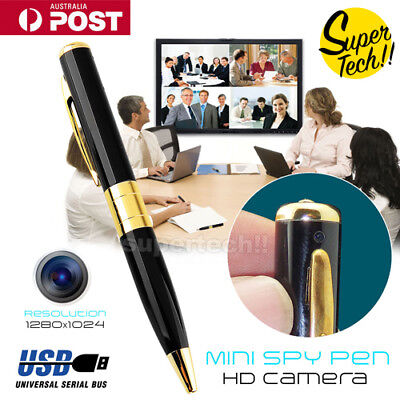 HD USB DV Spy Camera Pen Recorder Hidden Security DVR Cam Video motion detect