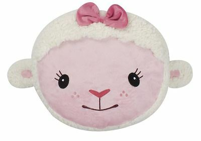 Children's Disney Doc McStuffins Lamby Sheep Shaped Cushion