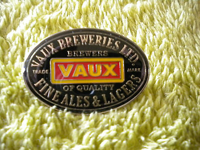Vaux Brewery Enamel Pin Badge