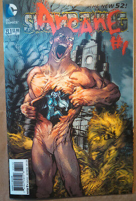 Swamp Thing #23.1 Lenticular 3D cover  Arcane #1 2nd Printing NM Unread