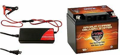 Mr86 50 12v 50ah Agm Deep Cycle Battery Ideal For 18 50lb