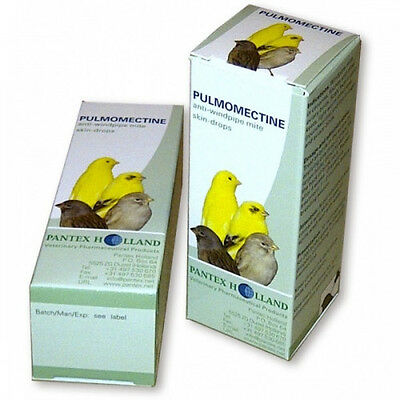 Pigeon Product - Pulmomectine by Pantex  for Racing Pigeons