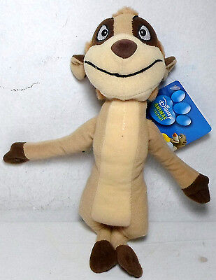 Disney Animal Friends Lion King 9'' Timon Plush Stuffed Toy Unused With Tags