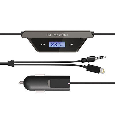 Car Wireless Mp3 Fm Radio Transmitter Hands Free For Iphone 5,5C, 5S, Touch 5