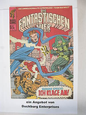 Fantastische Vier Nr.  61  Marvel Williams im Zustand (1-2) 44379