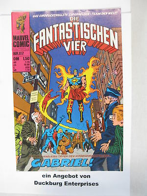 Fantastische Vier Nr. 117  Marvel Williams im Zustand (1-2) 44400