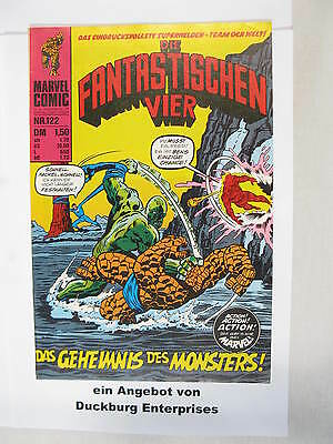 Fantastische Vier Nr. 122  Marvel Williams im Zustand (1-2) 44403