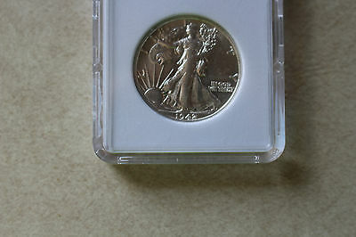 1942-S Silver Walking Liberty Half Dollar UNCIRCULATED