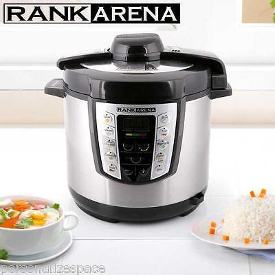 1000W Electric Multi and Pressure Cooker LED display automatic pressure control