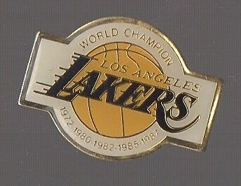 Pin's basket / Lakers Los Angeles (world champion)