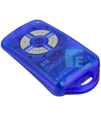 Garage Door Remote Control ATA PTX-4 BLUE Genuine SECURACODE Genuine Ptx4