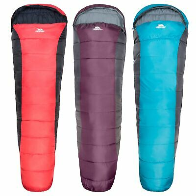 Trespass Siesta Adults 2 Season Camping Mummy Shape Sleeping Bag