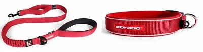 Ezy-Dog Red Collar & Matching Zero Shock Lead 48""