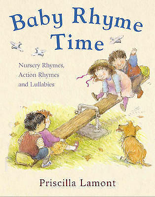 Baby Rhyme Time by Priscilla Lamont (Paperback, 2008)