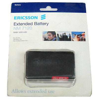 NEW Genuine Sony Ericsson T18 NM7120 BKB193 1200mAH Extended Battery OEM RETAIL
