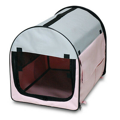 Folding Fabric Dog Crate Cat Carrier Portable Pet Soft Crates  Travel 3008
