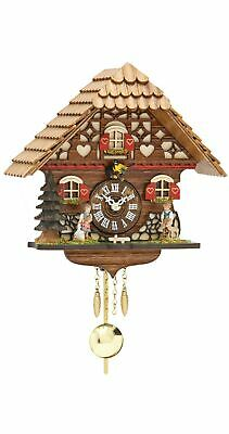 Kuckulino Black Forest Clock with quartz movement and cuckoo ch.. TU 2054 PQ NEW