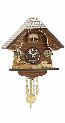 Kuckulino Black Forest Clock with quartz movement and cuckoo ch.. TU 2053 PQ NEW